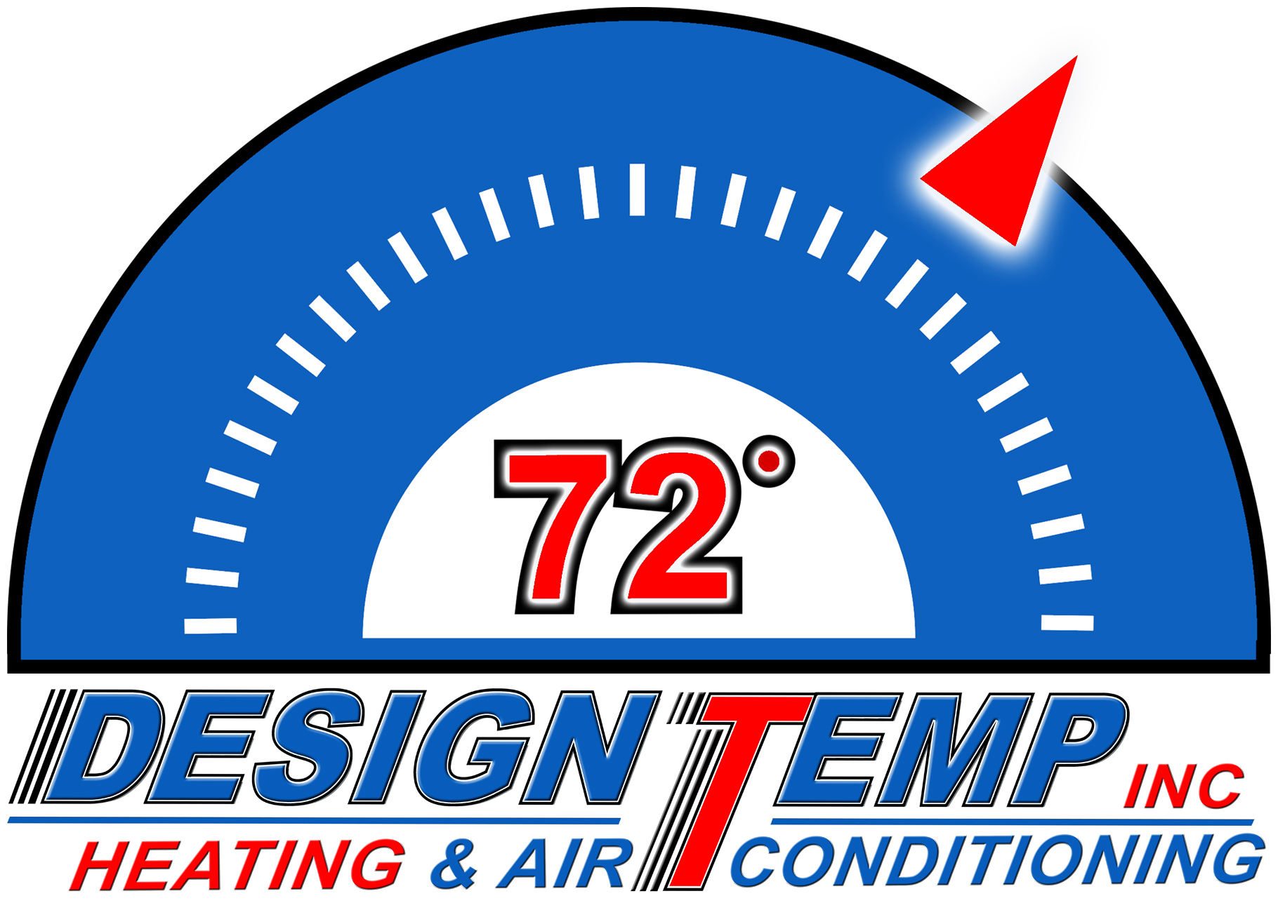Logo Design Temp Inc Hvac